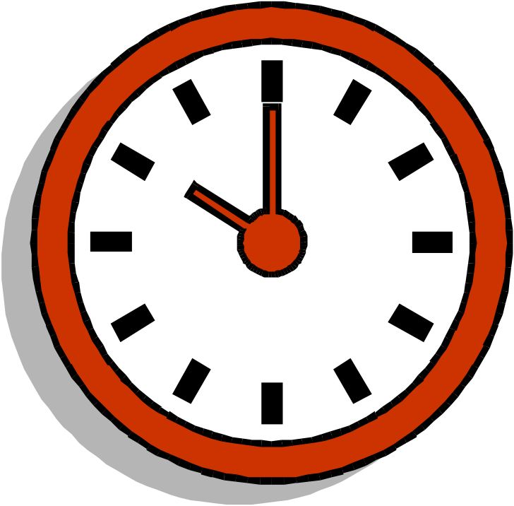 Clock face ten o'clock