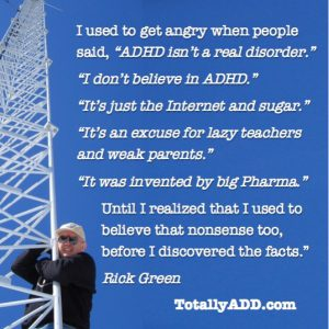 People Don't Believe in ADHD