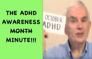 ADHD Awareness Month In 1 Minute