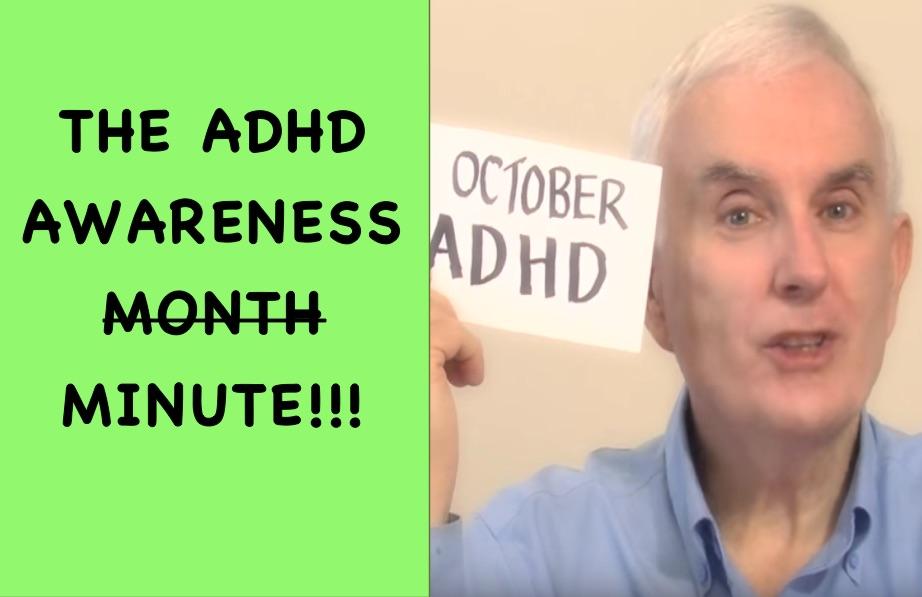 ADHD Awareness Month video thumbnail