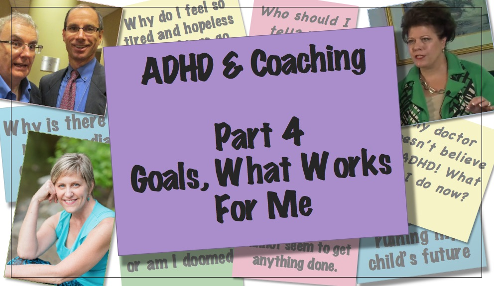 Video thumbnail ADHD Coaching Part 4 - what works for me