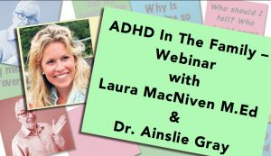 ADHD in the Family - Webinar