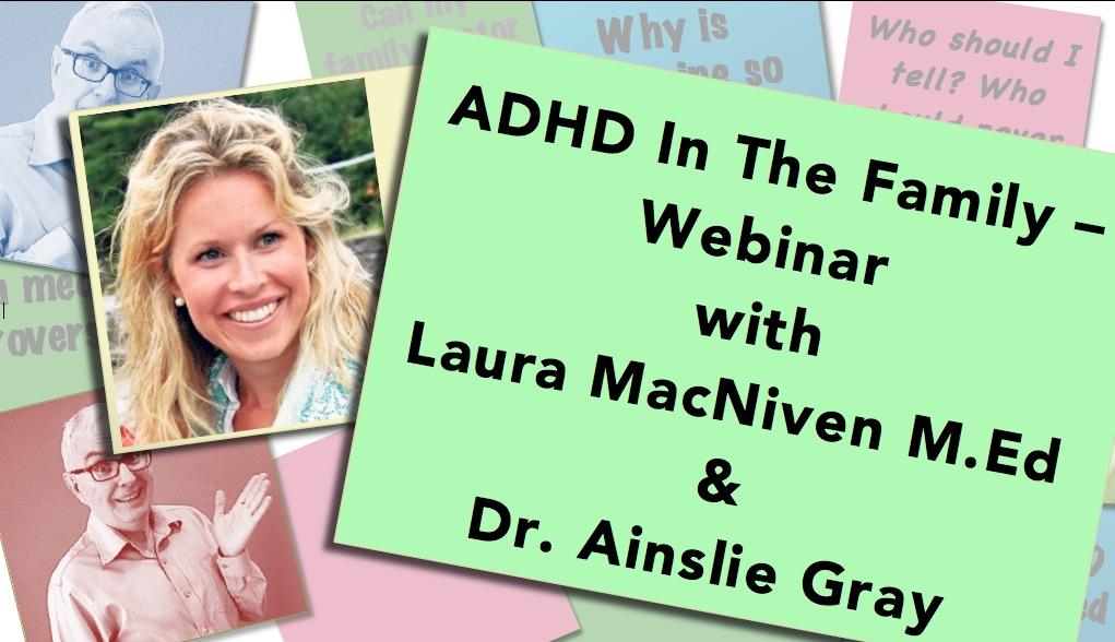 ADHD Family webinar thumbnail