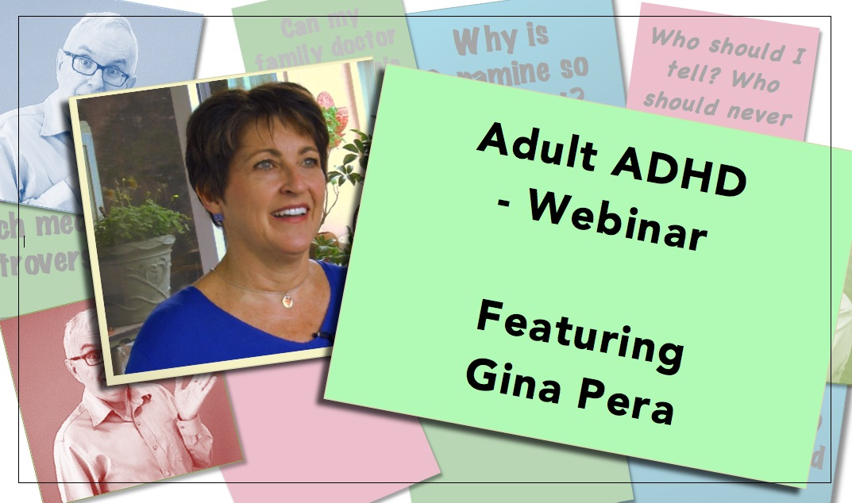 Video thumbnail Adult ADHD webinar