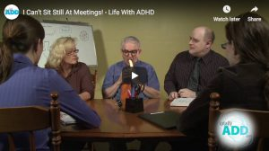 ADD Humor | I Can't Sit Still At Meetings!