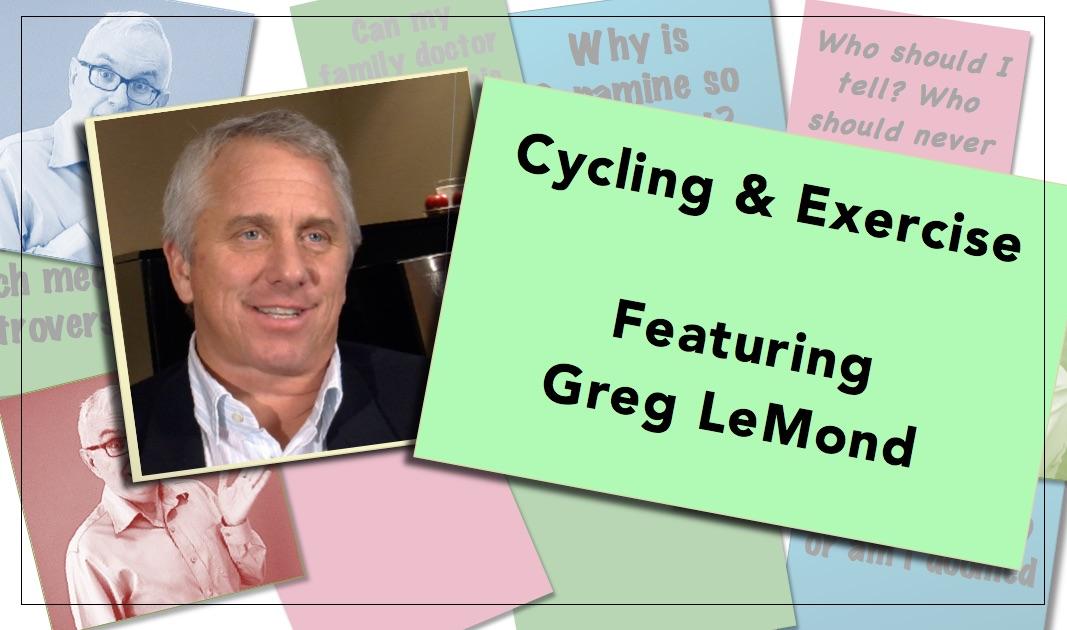 Video thumbnail Cycling & Exercise Greg Lemond