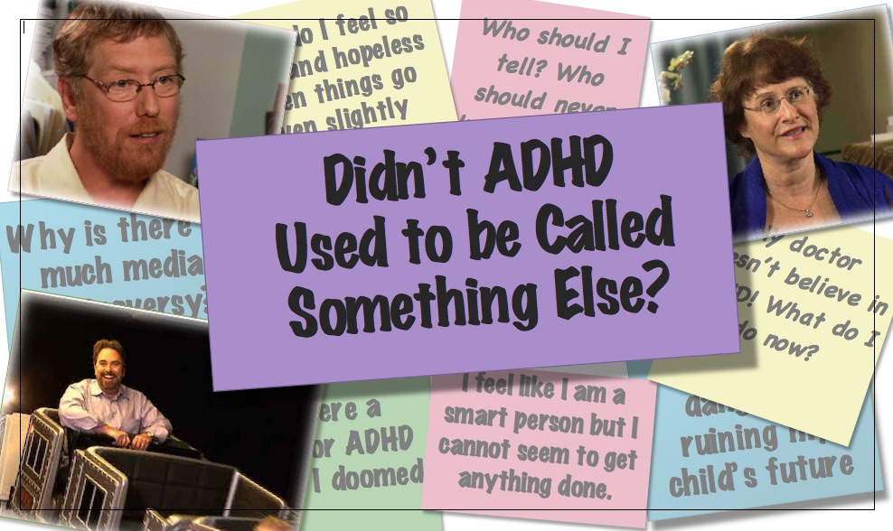 Video thumbnail Didn't ADHD Used to be Called something else