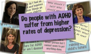 Do adults with ADHD suffer from higher rates of depression?