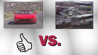 A car vs traffic