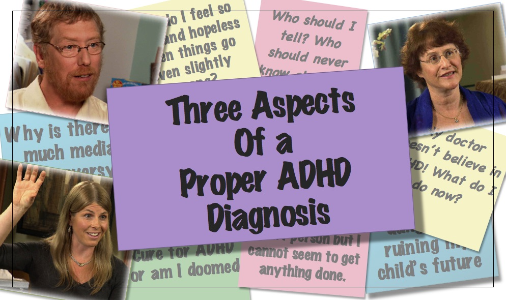 Video thumbnail Three aspects of a proper ADHD diagnosis