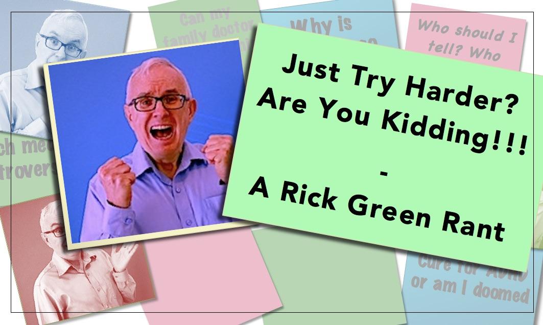 Video Thumbnail Try Harder Rick Green