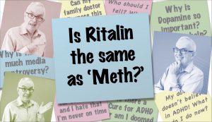 Is Ritalin The Same As Meth?