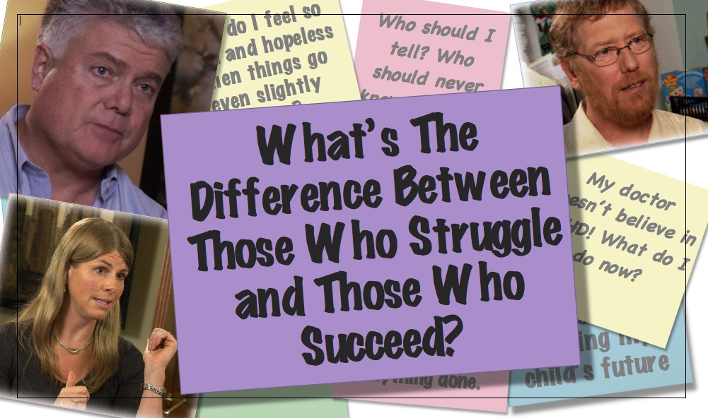 Video Thumbnail What's the difference between those who struggle with ADHD and those who succeed