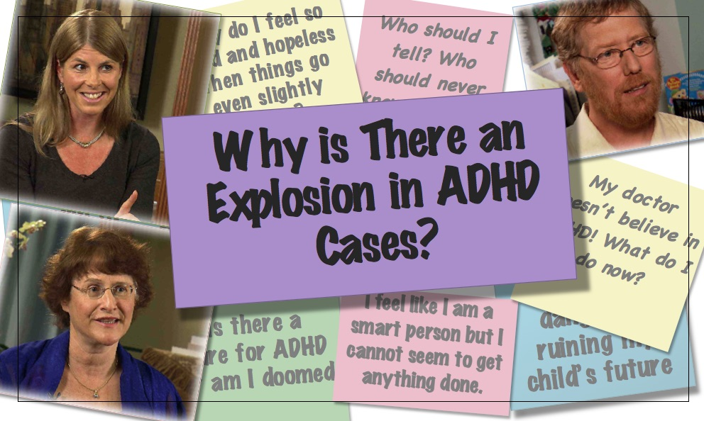 video thumbnail Increase in ADHD
