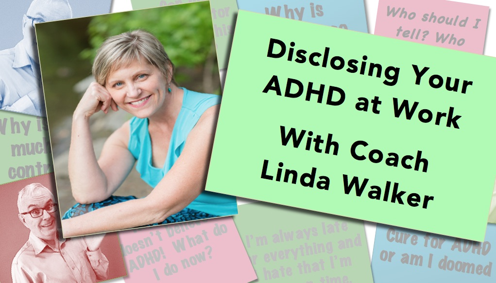 ADHD Video thumbnail about telling people you have ADD