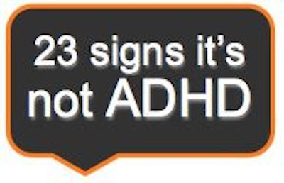 23 signs it is not adhd thumbnail