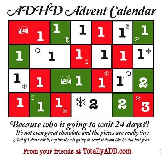 ADHD Advent Calendar