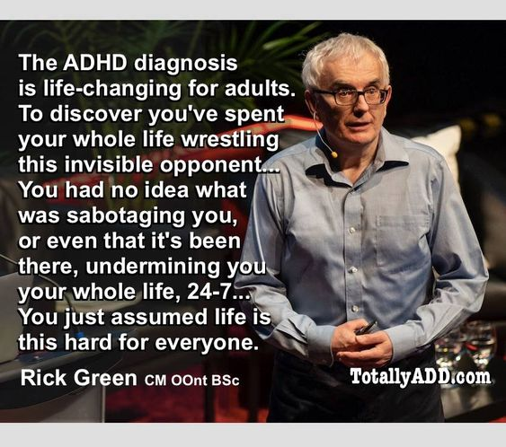The ADHD Diagnosis is Life Changing Meme