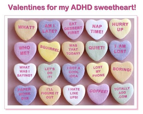 ADHD Valentines Meme