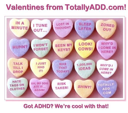 ADHD Valentines Candy Meme