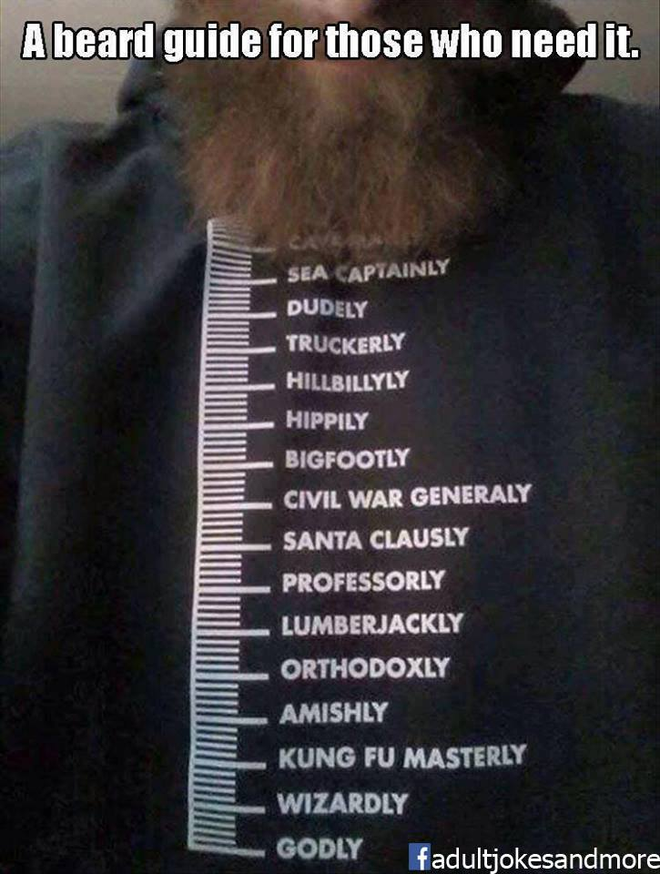 Beard Guide Meme