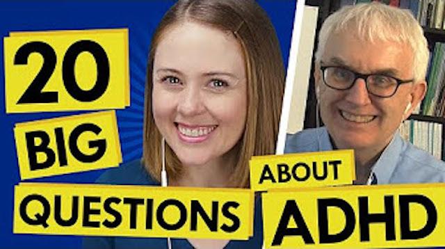 ADHD Comedy 20 Big Questions video thumbnail