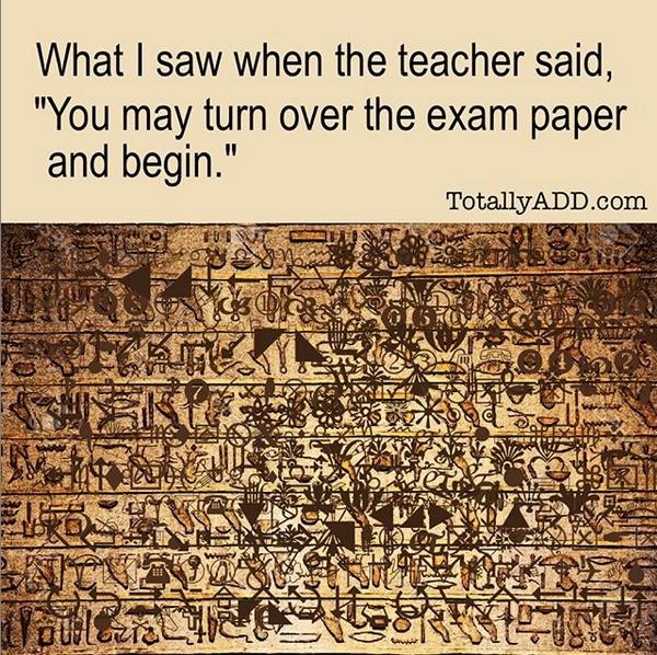 Overwhelming exam meme