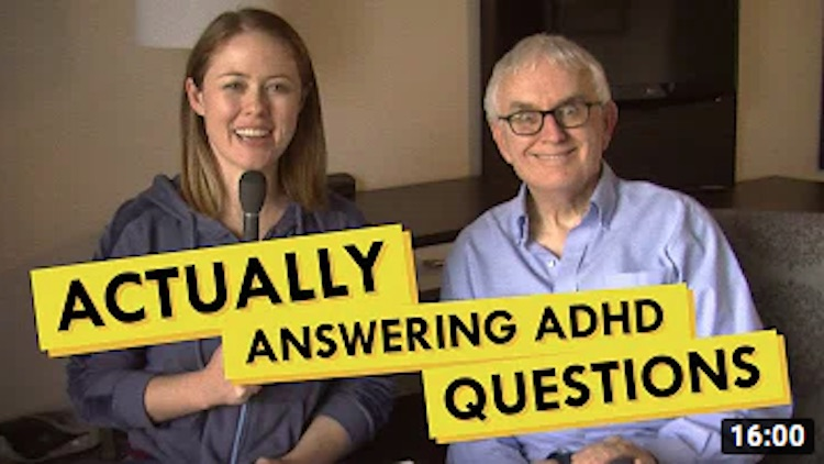 Answering Questions about ADHD with Rick Green and How To ADHD