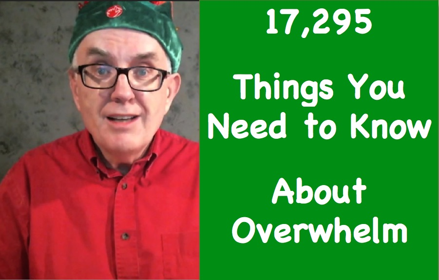 things you need to know about overwhelm and ADHD