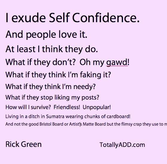 Self confidence meme