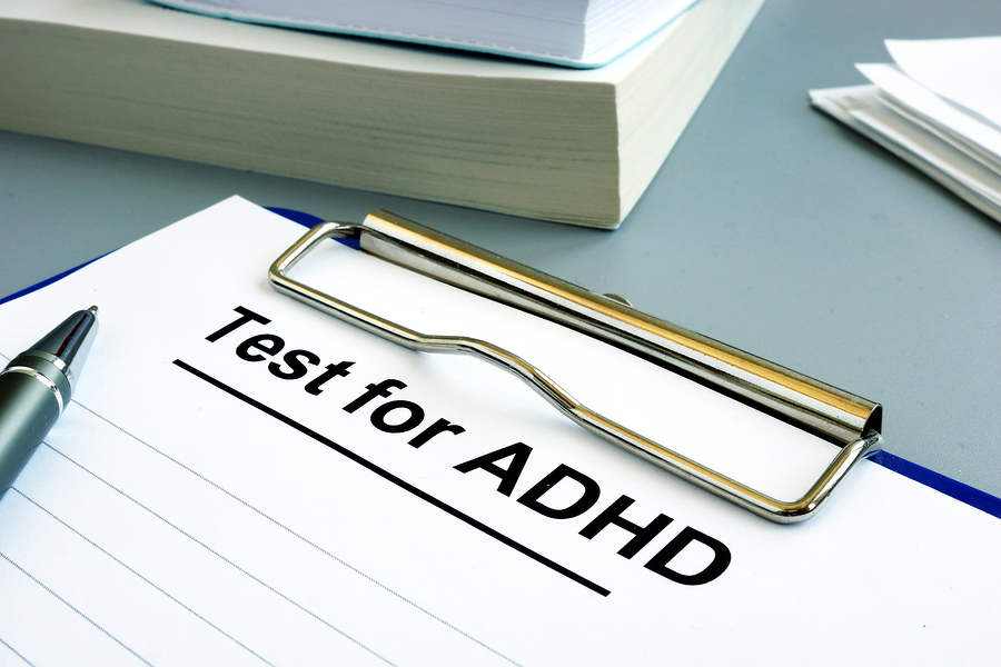 ADHD test reveals symptoms and subtype