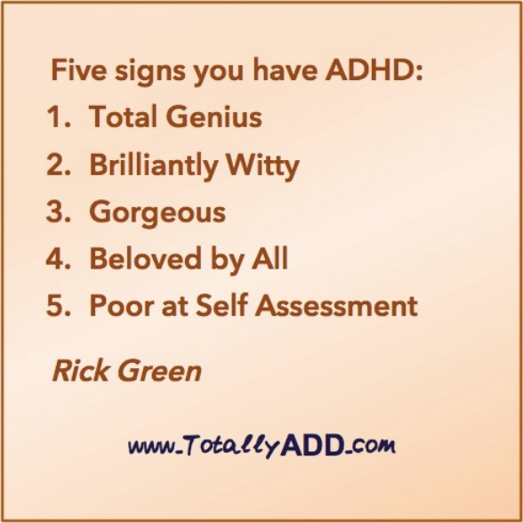 5 Signs You Have ADHD meme