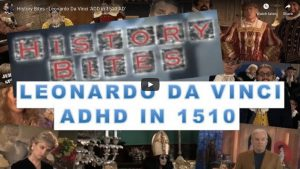 History Bites - Leonardo Da Vinci 'ADD in 1510 AD'