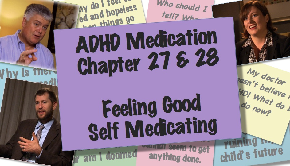 Self Medicating and feeling good