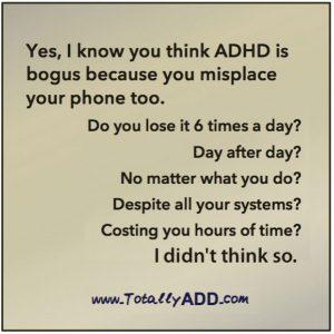 Think ADHD is Bogus