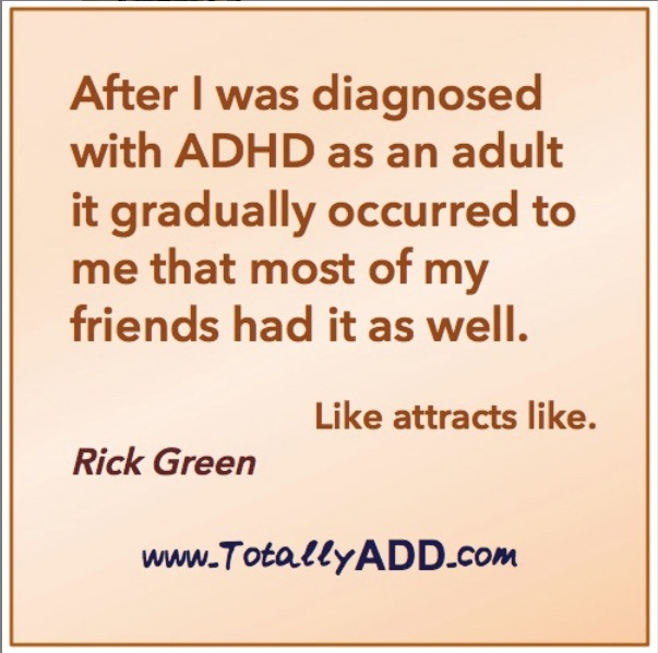 Meme about ADD diagnosis by TotallyADD