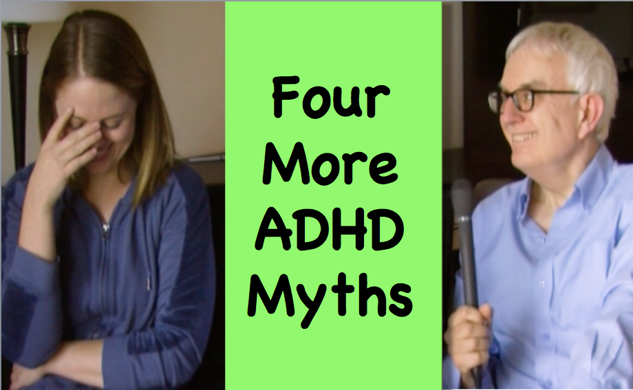 Rick Green and Jessica McCabe discuss ADHD myths