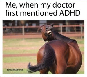 Mentioned ADHD