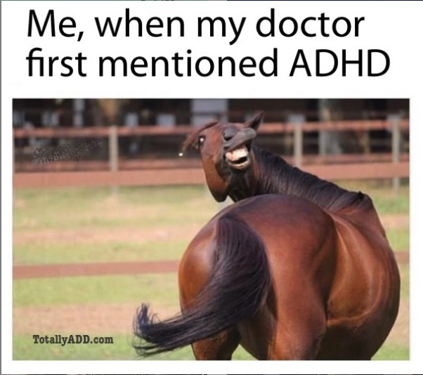 Meme about ADHD by TotallyADD