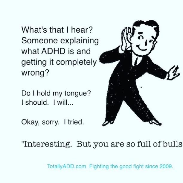 What's That I Hear ADHD Meme