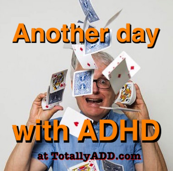 Another day with ADHD meme