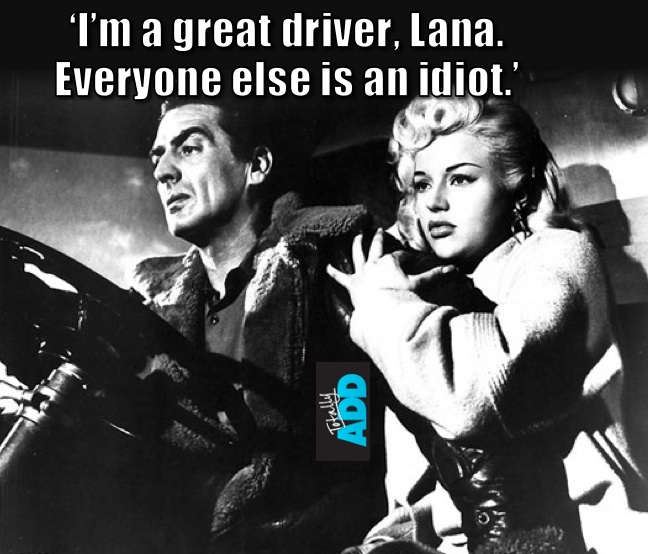 I'm a great driver meme
