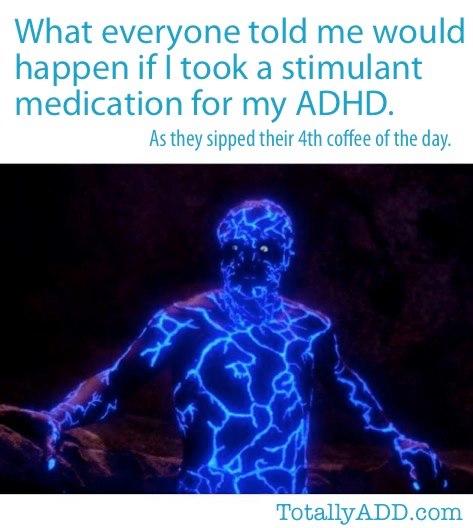 Meme about stimulant medication