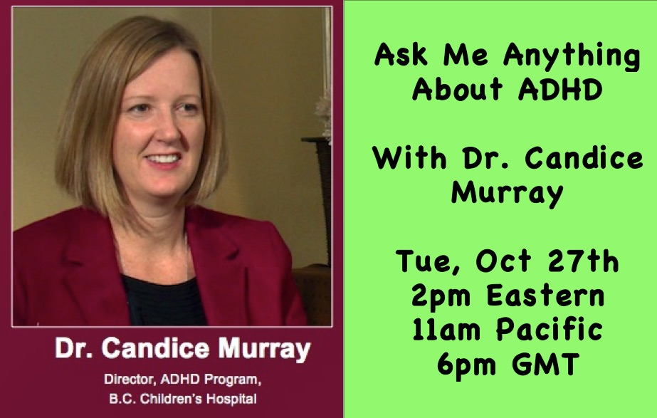 Ask me anything about ADHD with Dr Candice Murray