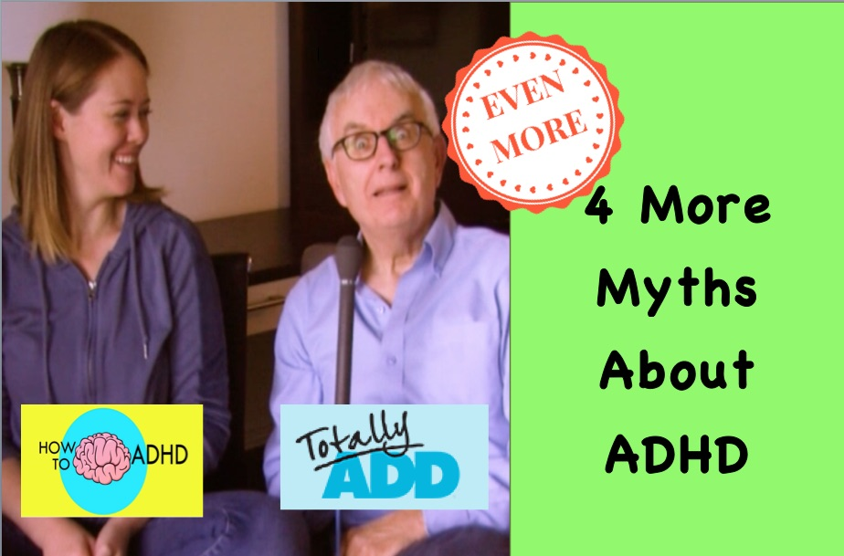 Even More ADHD Myths
