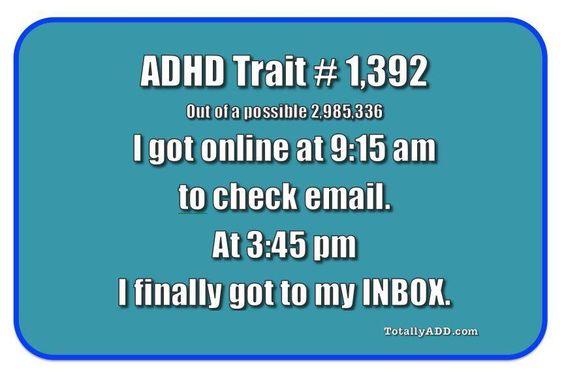 ADHD Trait Meme