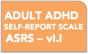 Button for Adult ADHD Self Report scale