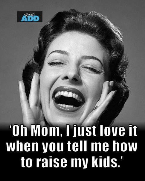 Mom's advice meme