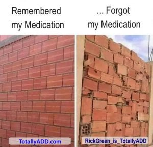 Difference Between Taking My Meds and Not Taking My Meds
