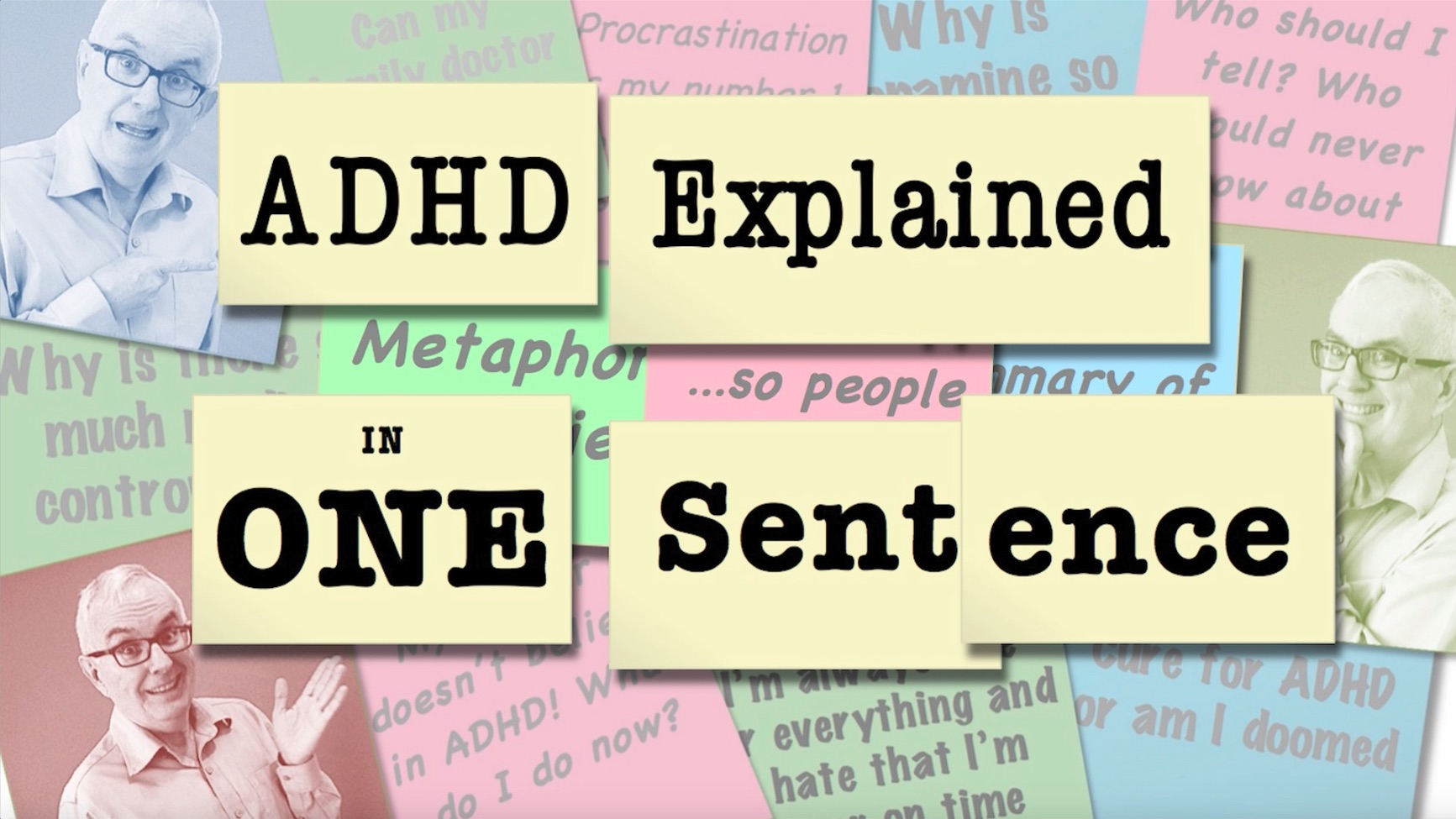 Video Thumbnail ADHD Explained in One Sentence